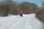Metamora Hadley Recreation Area snowmobiling