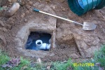 septic tank and field inspection